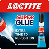 Loctite Super Glue Power Easy Gel / Extra strong gel non-drip glue for leather, rubber, wood, metal,...