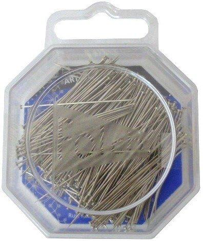 Ogquaton 100 Piezas de Coser alfileres de Patchwork Pin de Flores Pin de Costura alfileres de Cabeza de Flor con Caja