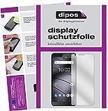 dipos I 2X Schutzfolie klar kompatibel mit Gigaset GS100 Folie Bildschirmschutzfolie