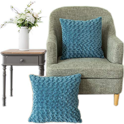 light blue couch pillows - 7