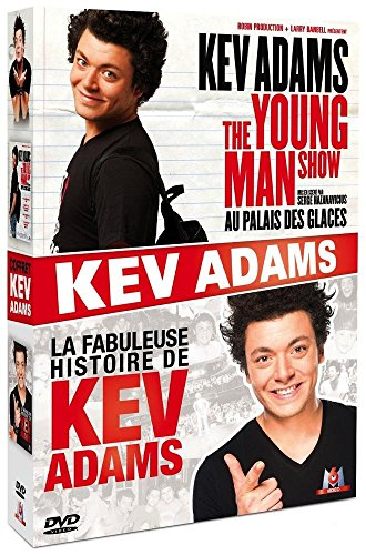 Kev Adams - The Young Man Show au Palais des Glaces + La fabuleuse histoire de Kev Adams [Italia] [DVD]