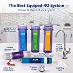 Express Water - ROALK10DCG Reverse Osmosis Alkaline Water Filtration System – 10 Stage RO Water Filter with Faucet and… 14 Reverse Osmosis Water Filter: Experience what water should taste like with the Express Water reverse osmosis water filtration system removing up to 99.99% of Lead, Chlorine, Fluoride, Nitrates, Calcium, Arsenic, Bacteria, and more Alkaline Water Filter: Express Water's Alkaline Water Filter with Active Mineral Technology adds Calcium, Potassium, Magnesium, and other minerals to your water Under Sink Water Filter: Don't waste money on professional installation. Express Water's quick and easy-to-understand design means you can install and understand everything about your new water filtration system