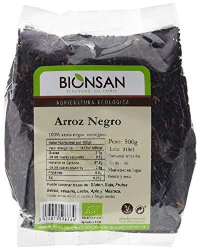 Bionsan Arroz Negro de Cultivo Ecológico - 500 g