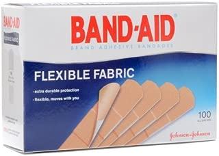 Flexible Fabric Premium Adhesive Bandages,  3/4 x 3,  100/Box (Pack of 2)