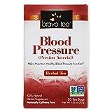 Bravo Tea, Blood Pressure Herbal Tea, Caffeine Free, 20 Tea Bags