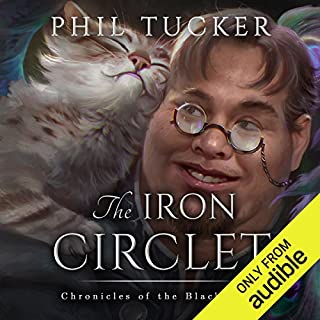 The Iron Circlet audiobook cover art