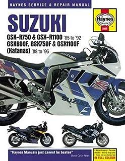 Suzuki GSX-R750 & GSX-R1100, GSX600F, GSX750F & GSX1100F (Katanas) (86 - 96) (Haynes Service & Repair Manual)