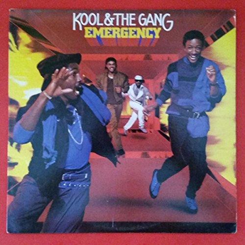 KOOL and GANG Emergency LP Vinyl VG+ Cover VG+ 1984 De Lite 422 822 943 Sterling