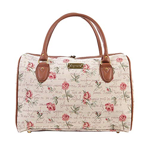 Signare Tapestry Duffle Bag Overnight Bags Weekend Bag for Women with...