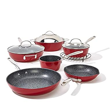Curtis Stone Dura-Pan Nonstick 12-piece Chef's Cookware Set