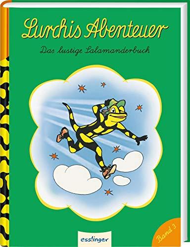 Das lustige Salamanderbuch (3) (Lurchis Abenteuer, Band 3)