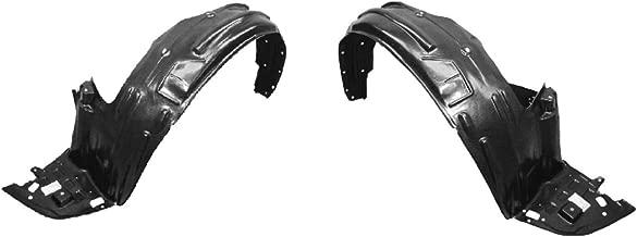 Partslink Number HO1249128 OE Replacement Honda Odyssey Front Passenger Side Fender Inner Panel