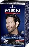 Men Perfect Schwarzkopf 90 Haartönung Natur schwarz, hochwertige Haarfarbe gegen graue Haare 3er...