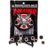 Independent Thrasher Phillips Bolts 1 Inch Black/Silver x8 - Independent