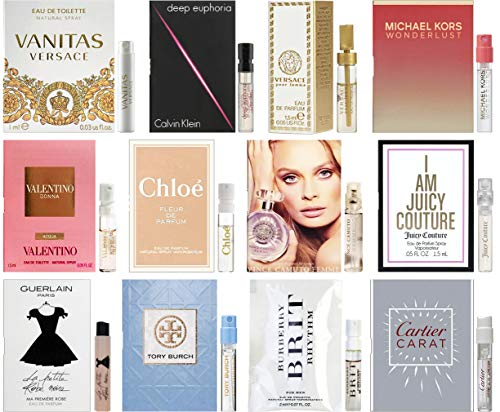 Sampler Lot of Designer Fragrance Samples for Women
