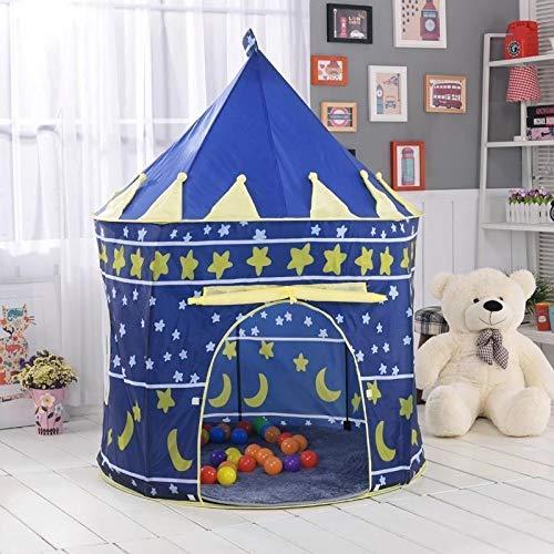 lvl25 LEVEL25 Castillo Tienda Infantil Plegable para niños y niñas, Interior y Exterior