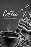 Coffee Tasting Journal: Coffee Journal Record Log Book Notebook with Flavor Wheel Tasting Chart, Color Meter, Origin, Roasting, Brewing, Rating for ... Lovers Gifts Vol 5 (Premium Cream Paper)