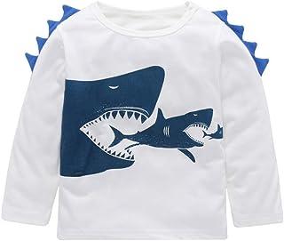 e1541b6b8cfef Sunnjoy Manteau Sweat-Shirt Requin Imprimé Bébé Filles Garçons Pull à  Manches Longues T-