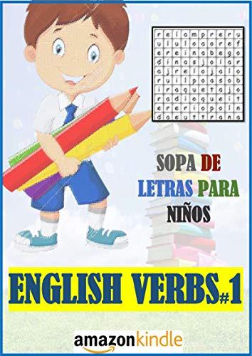 SOPA DE LETRAS PARA NIÑOS: ENGLISH VERBS PART 1 (A-D)