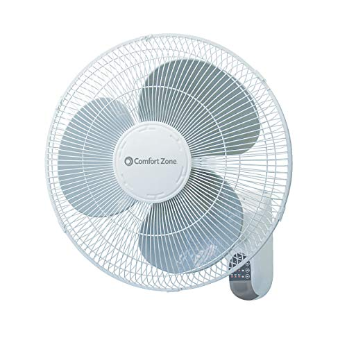 Comfort Zone Wall Mount Fan