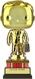 Funko Pop! TV: The Office - Customizable Chrome Dundie Award, Amazon Exclusive Collectible Vinyl Figure (52077)