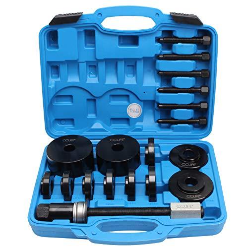 CCLIFE 19tlg Universal Radlager Radnabe Abzieher Radlagerwerkzeug Montage Demontage Werkzeug Set