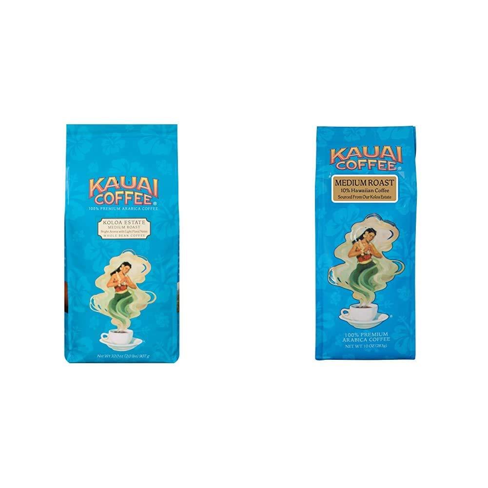 Now on sale Kauai Whole Bean Coffee Koloa Estate Roast Bright Medium Albuquerque Mall Arom -