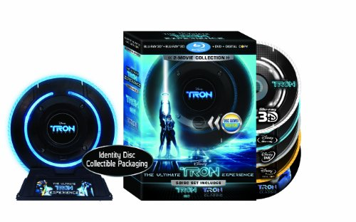 Tron: Legacy / Tron: The Original Classic (Five-Disc Combo: Blu-ray 3D / Blu-ray / DVD / Digital Copy in Identity Disc