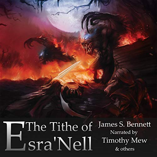 The Tithe of Esra'Nell audiobook cover art