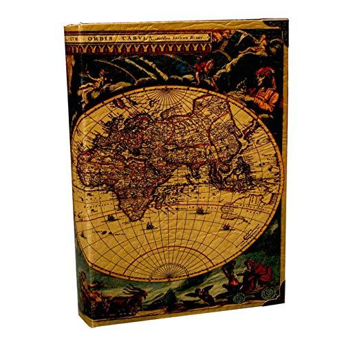 VAST Adornos De Libros Madera Antiguo Clásico Decorativo Caja De Libros Falsos Accesorios De Almacenamiento Vintage Libro Almacenamiento De Joyas Estudio De Embalaje(Size:28cm*20cm*7cm,Color:Grande)