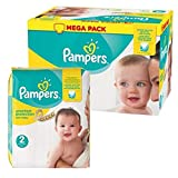 Couches Pampers - Taille 2 new baby premium protection - 93 couches bébé