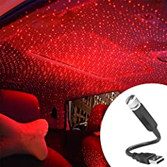Easy to Use: No need to install, plug the LED atmosphere light into any USB interfaces, you will get a Romantic Galaxy Star Night, add a romantic atmosphere to your date or party. Easy to Carry:Small size and light weight. The foldable aluminium allo...