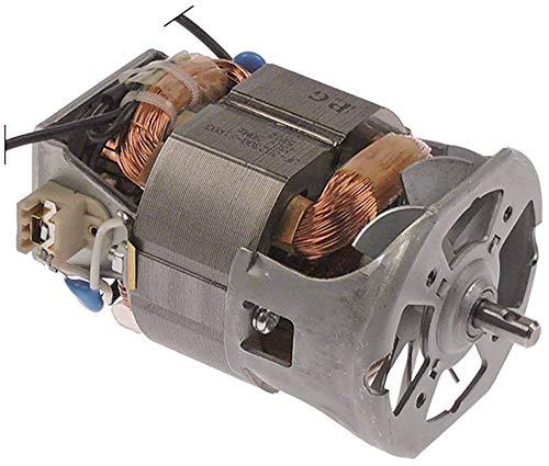 Sammic Motor para batidora TR-250 de ancho 70 mm, 50 Hz, longitud 105 mm, 230 V, eje 6 mm