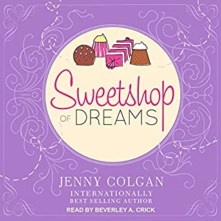 Sweetshop of Dreams audiobook cover art