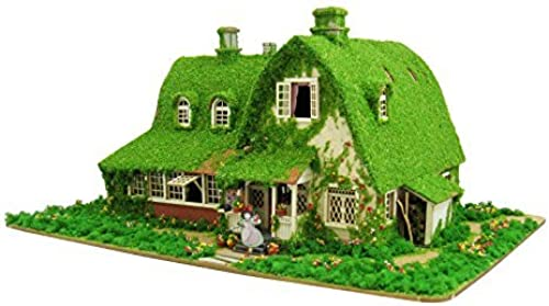 1 150 Studio Ghibli series Kiki's Delivery Service Kiki and Jiji house (Okino House) MK07-22 Paper Craft by TotGold