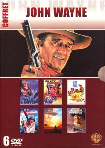 John Wayne - Coffret - Les cowboys + Chisum + Rio Bravo + Opération dans le Pacifique + La prisonnière du désert + Les cordes de la potence [Francia] [DVD]