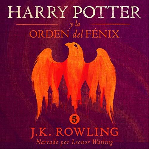 Diseño de la portada del título Harry Potter y la Orden del Fénix