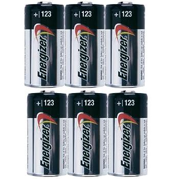 Energizer Photo Battery 123 6-Count Bulk