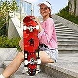Zoom IMG-2 hikole skateboard completo in legno