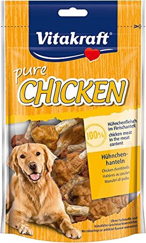 Vitakraft 1571260031 - Snack muslitos de Pollo 100% Naturales para Perros 80 gr 🔥