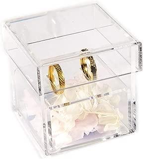 clear acrylic ring box