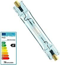 GE 38692/lampada alogena bruciatore ceramica metallico bianco colore naturale cmh150//TD//UVC//942//Rx7s 942/ /4200/K 150/W