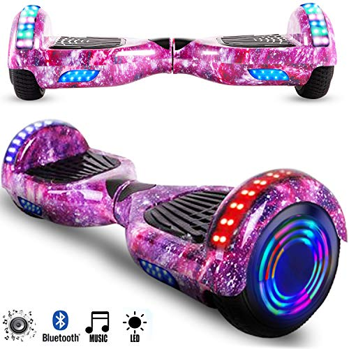 Magic Vida 6.5´´ Patinete Eléctrico Bluetooth Scooter Monopatín LED...