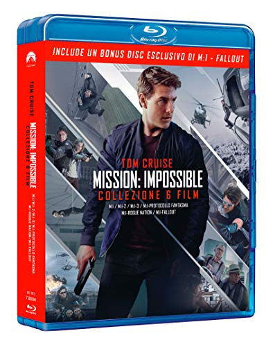 Mission Impossible 1-6 Collection (Blu-Ray) (7 Dischi)