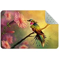 エリアラグ軽量 鳥の花 フロアマットソフトカーペットチホームリビングダイニングルームベッドルーム