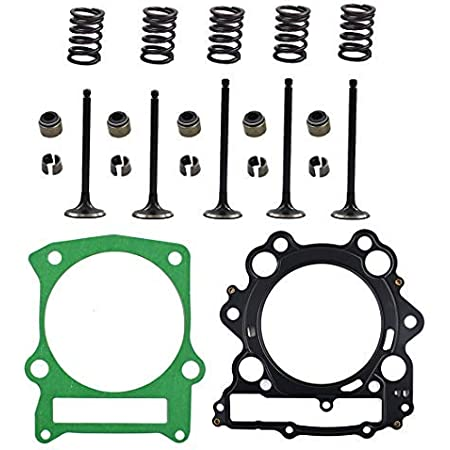 BETTERCLOUD Engine Intake /& Exhaust Valve Kit Fit for Yamaha Grizzly Raptor Rhino 660 660R