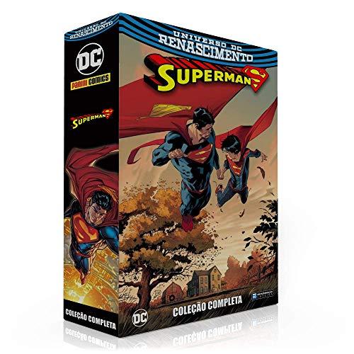 BOX PARA A COLEÇÃO: SUPERMAN RENASCIMENTO (SOMENTE A CAIXA)