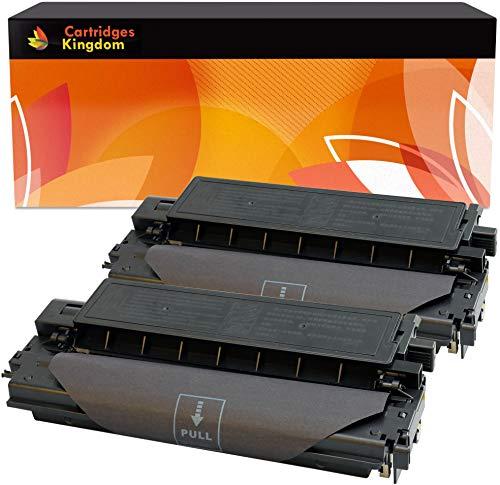 Cartridges Kingdom 2X E30 E40 Schwarz Toner kompatibel für Canon FC100 FC120 FC128 FC200 FC210 FC220 FC224 FC230 FC300 FC310 FC330 FC336 FC530 PC550 PC710 PC720 PC730 PC750 PC760 PC770 PC780