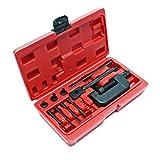 WilTec Séparateur disjoncteur Outil de rivetage Coupe-chaînette pour chaîne Moto, chaînes de Distribution