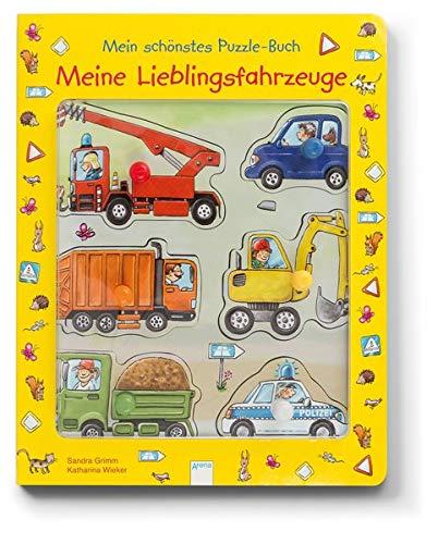Meine Lieblingsfahrzeuge. Mein schönstes Puzzle-Buch